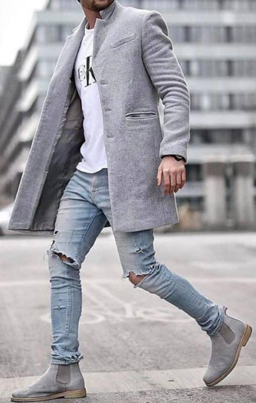 21 Formas de Combinar una Camiseta Blanca Hombre Moda Hombre