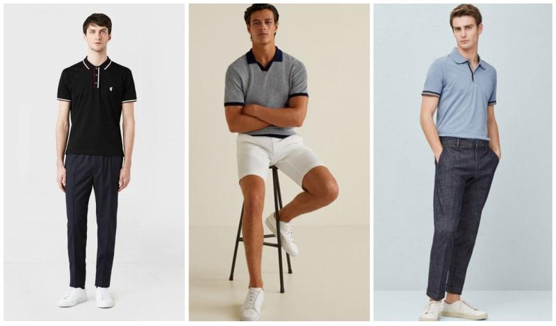 Como Usar Una Camisa Polo Para Hombre Moda Hombre
