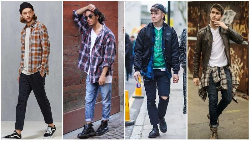 Moda De Los 90 Hombres Como Vestirse De Los 90 Hombre Moda Hombre