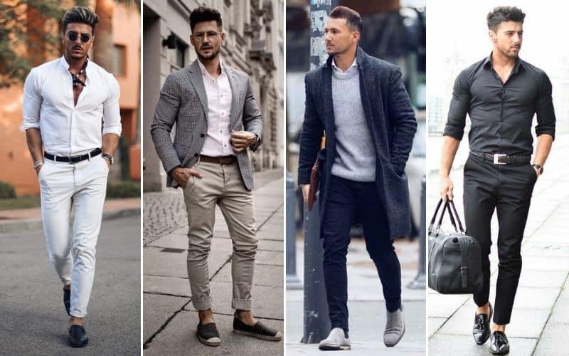 Como Combinar Pantalones Chinos Hombre Moda Hombre